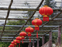 Red chinese lantern Stock Image