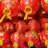 Red Chinese lantern Stock Photos