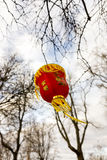 Red Chinese paper lantern Royalty Free Stock Photography