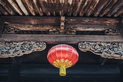 Red Chinese Paper Lanterns Stock Images