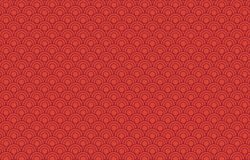 Red Chinese seamless pattern background. Illustration design