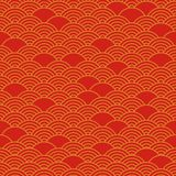 Red chinese seamless pattern. Vector illustration vector illustration