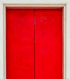 Red Chinese Style Door Stock Images