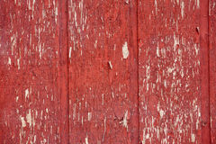 Red Chipped Paint Wood Wall Background Texture Royalty Free Stock Images