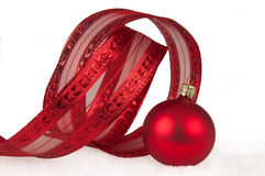 Red chistmas decoration Stock Photography