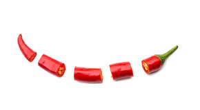 Red chopped chili Royalty Free Stock Photos