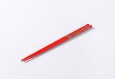 Red chopsticks Stock Photos