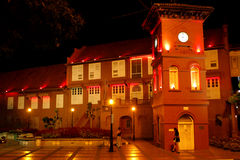 Red Christ Church in Malacca Stock Photo