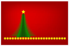 Red Christmas. Stock Images