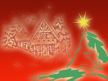 Red christmas  Royalty Free Stock Images