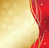 Red christmas abstract background Stock Image