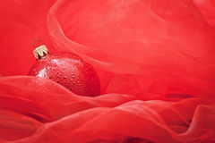 Red and Christmas atmosphere Royalty Free Stock Image