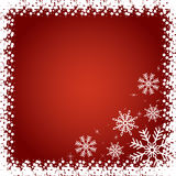 Red Christmas background. Stock Photo