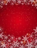 Red christmas background,  Royalty Free Stock Images