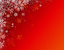 Red christmas background,  Stock Photography