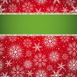 Red christmas background,  Royalty Free Stock Image
