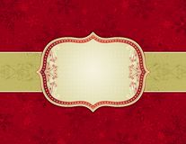Red christmas background royalty free illustration