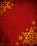 Red Christmas Background Stock Photo