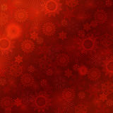 Red christmas background. Royalty Free Stock Photography