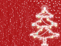 Red christmas background Stock Photos