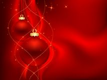 Red_christmas_background Obrazy Stock