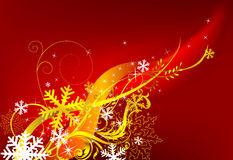 Red Christmas background. Motion stylish background, the vector image, an additional format available. Visit my gallery to see similar Royalty Free Stock Photo