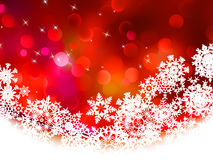 Red Christmas background in elegant style. EPS 8. Red Christmas background in elegant style. And also includes EPS 8 Stock Photo