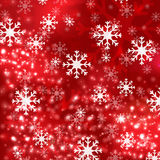 Red Christmas background in elegant style Royalty Free Stock Images