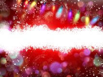 Red Christmas background. EPS 10. Red Christmas background with space for text. EPS 10 vector file included Stock Photography