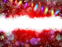 Red Christmas background. EPS 10. Red Christmas background with space for text. EPS 10 vector file included Royalty Free Stock Photo