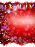 Red Christmas background. EPS 10. Vector file included Stock Photos