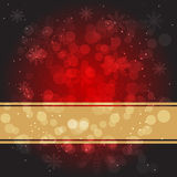 Red  Christmas  Background. Festive dark red Christmas background Stock Images