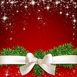 Red christmas background. Royalty Free Stock Photo