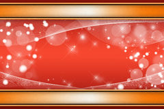 Red christmas background Royalty Free Stock Photography