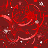 Red Christmas  background seamless Stock Images