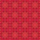 Red christmas background with seamless pattern. Ideal for print stock images
