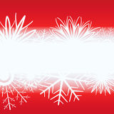 Red Christmas background. Royalty Free Stock Photos