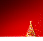 Red christmas background . Stock Photography