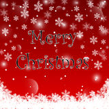 Red Christmas background. Vector EPS10. Stock Photos