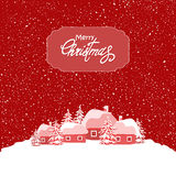 Red christmas Stock Photography
