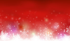 Red christmas background. For your design vector illustration
