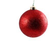 Red christmas ball Royalty Free Stock Photo