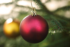 Free Red Christmas Ball Royalty Free Stock Images - 17281189