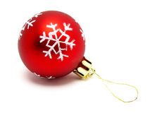 Free Red Christmas Ball Stock Photography - 249742