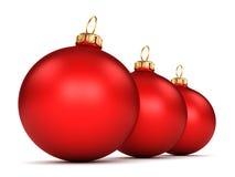 Red Christmas ball Stock Image