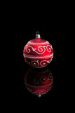 Red Christmas Bauble. Stock Image