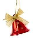 Red christmas bell Stock Image