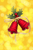 Red Christmas Bells Royalty Free Stock Photos