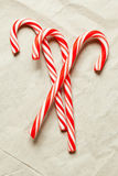 Red christmas candy Stock Image