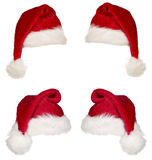 Red christmas cap Royalty Free Stock Photos